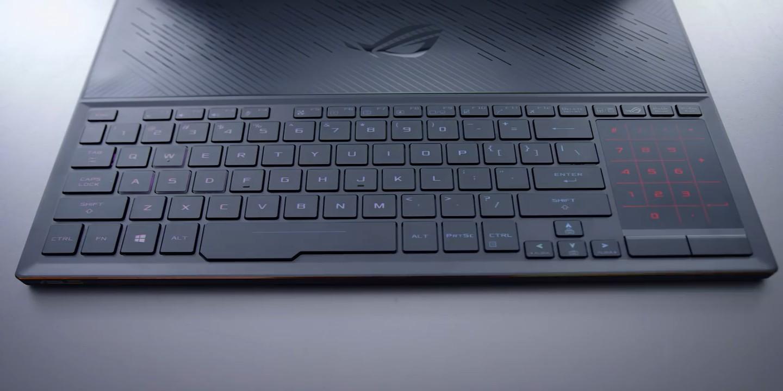 Asus zephyrus s keyboard
