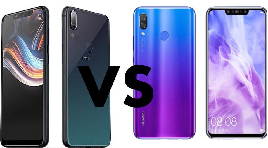 Infinix Zero 6 vs Huawei Y9 2019