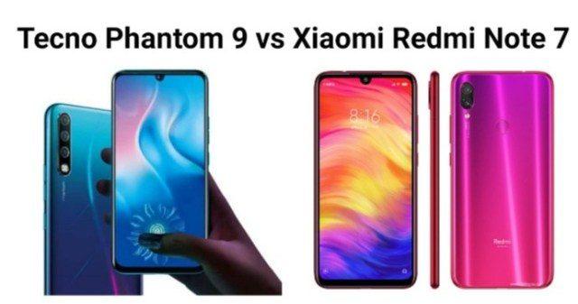 Tecno Phantom 9 vs Xiaomi Redmi Note 7