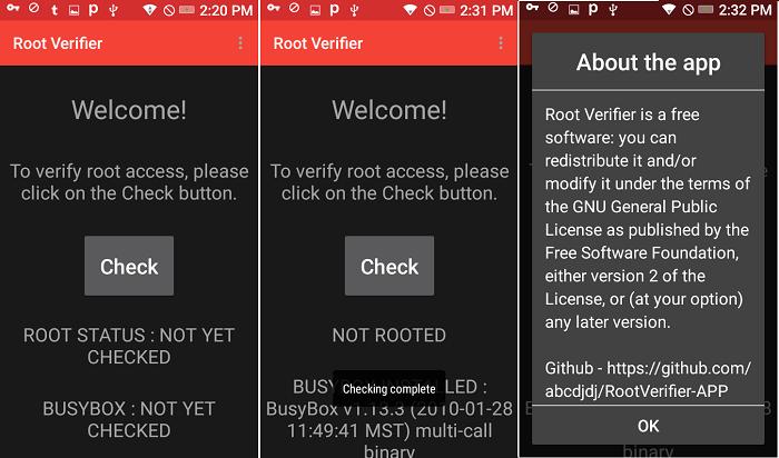 Root Verifier by Madhav Kanbur