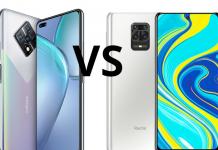 Infinix Zero 8 vs Xiaomi Redmi Note 9s