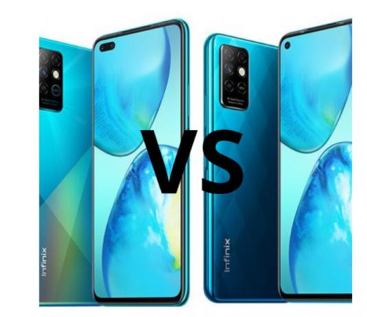 Infinix Note 8 vs Infinix Note 8i